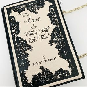 Betsey Johnson 'Love & Other Stuff' Book Purse